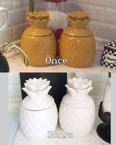 Kendin Yap, Mobilya boyama Jar, Accessories, Home Decor, Decoration Home, Room Decor, Home Interior Design, Jars, Glass, Home Decoration