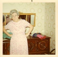 "My Granny Eleanor. ""OK, which one of you little whippersnappers stole my crotchless panties and thongs from my dresser? Do you realize you ruined my Saturday Night with Grandpa? Vintage Photographs, Vintage Photos, Bad Photos, Family Album, Vintage Humor, Happy Women, Boudoir Photos, Photo Colour, Vintage Colors"