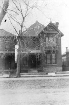 Denver - Luthe residence (2644 California Street) :: Western History, 1893, 1890 - 1900