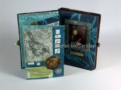 Book Arts-Sharon McCartney: The Other Day Awakened, love the stitching