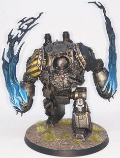 Iron Warriors contemptor with fists of fury. : Warhammer