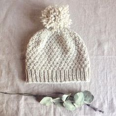 A simple yet satisfying free hat pattern on Ravelry by Solenn Couix-Loarer  - Beloved aran  hat would be super cozy knit in HiKoos Simplinatural yarn  from ... 76898eedc96