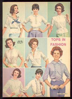 Lana Lobell Spring 1961 Catalog Tops in fashion