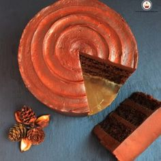 Carrot cake superchocolateada. Aroma de chocolate