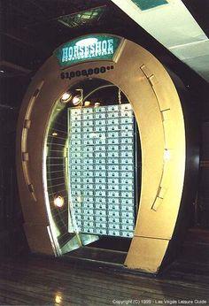 Million Dollar Display discussed in Binion's/Las Vegas Casinos at Wizard of Vegas Vegas Vacation, Las Vegas Trip, Horseshoe Casino, Vegas Fun, Vintage Neon Signs, Fremont Street, Nevada, Legal Tender, Rare Photos