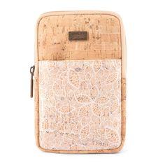 Kork Handytasche «White» von CorkLane – Vegane Handytasche Kork Smartphone, Suitcase, Fashion, Vegan Handbags, Notebook Bag, Handmade, Leather, Moda, Fashion Styles