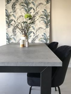 Dining Room, Dining Table, Future House, Concrete, Furniture, Home Decor, Future Tense, Home Ideas, House