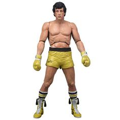 Figura Rocky. Rocky Balboa, serie 3, 18cm, Neca