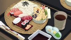 Food in Animé Films