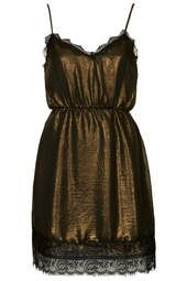 78852e887d   Metallic Slip Dress by WYLDR Coisas De Menina