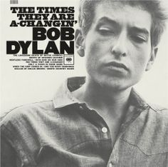 Bob Dylan.  The Times They Are A-Changin'.  It'z a song by Bob Dylan apparently Ron Burgundy had never heard of it...