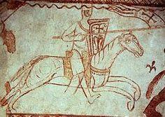 Crusading knight, 12th century