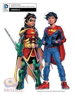 Robin & Superboy Rebirth
