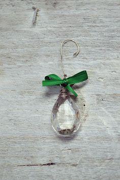 Vintage Chandelier Crystal Ornament