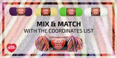 Need some color matching help? Our Multicolor Coordinate list takes the mystery out of which solids go with your favorite multis! ...