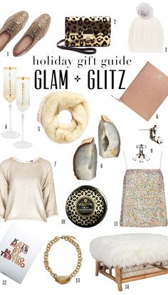 Glam Holiday Gifts To Give | theglitterguide.com