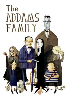 The Addams Family discovered by Meek on We Heart It Cartoon Familie, Addams Family Tv Show, Charles Addams, Star Character, Tales From The Crypt, Sci Fi Comics, Family Painting, Family Illustration, Creepy Pictures