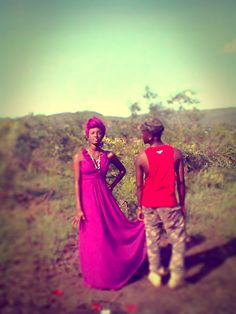 Model keletso serage and Quincythabang Photographer Thlogelo Serage African story teller shoot...