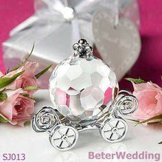 Atacado cristal sj013_choice coleta de cristal abóbora coach_used como favores de partido e de eventos presentes  Party Favors, Baptism Gifts, Birthday Souvenirs@http://www.aliexpress.com/store/512567  BeterWedding, Shanghai Beter Gifts Co Ltd