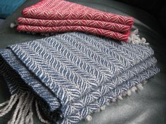 Quartet of Scarves - direct link to the draft is here http://www.handweaving.net/PatternDisplay.aspx?PATTERNID=61537