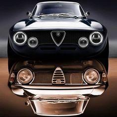 Alfa Romeo Junior, Alfa Romeo Cars, Alfa Romeo Gtv6, Alfa Romeo Giulia, Vintage Sports Cars, Vintage Cars, Sport Cars, Race Cars, Top Luxury Cars