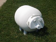 Propane tank piggy