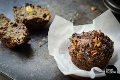 BBQ Lentil Muffins [Vegan, Gluten-Free]