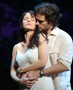 4-5. Hottest Couple You Are Rooting For Even Though It Is Morally Questionable: Kelli O'Hara and Steven Pasquale (Francesca Johnson and Robert Kincaid in The Bridges of Madison County)