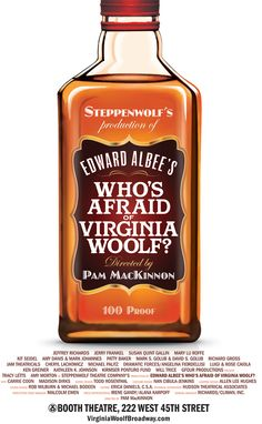 October 13, 2012 - WHO'S AFRAID OF VIRGINIA WOOLF?