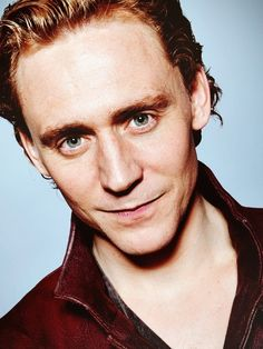 Tom Hiddleston - This man right here is the definition of male beauty.