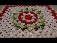 Passo a passo Flor Centro-Oeste em Crochê - YouTube
