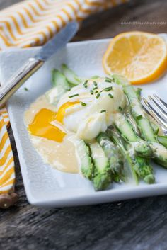 Asparagus Benedict - Against All Grain