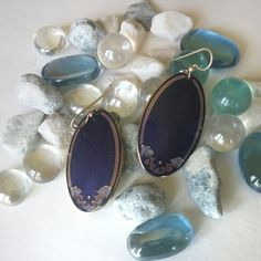 Look at what i found, Vintage 1980s Isle of Skye purple earrings perfect for dressing up any outfit.....i love fashion!!!