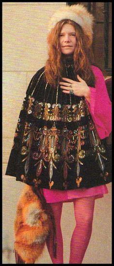 Janis Joplin<3 people say she looks like me. :D I wish! She was perf. <3