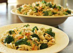 Lemon Pasta with Chicken & Broccoli | 5DollarDinners.com