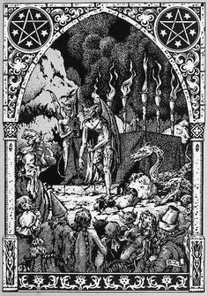 Hell (Art by Bernard Zuber) #demons, #Medieval, #Dark