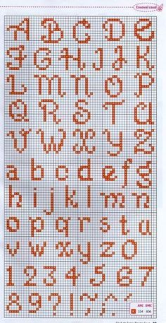 Most current Absolutely Free Cross Stitch punto de cruz Ideas Schöne Monogramme ! In Aktion ! Tiny Cross Stitch, Cross Stitch Borders, Cross Stitch Charts, Cross Stitch Designs, Cross Stitching, Cross Stitch Embroidery, Embroidery Alphabet, Embroidery Patterns, Hand Embroidery