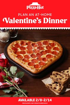 A pizza shaped like a heart? Could there be a more perfect way to celebrate Valentine's Day at home? Plan ahead and order a Heart-Shaped Pizza starting 2/8. And don't forget to add a cookie or brownie for dessert to sweeten the deal. Valentine Crafts For Kids, Valentine Treats, Valentines Day Party, Cute Boyfriend Gifts, Valentines Gifts For Boyfriend, Pasta Fagioli Soup Recipe, Pineapple Cobbler, Heart Shaped Pizza, Pizza Shapes