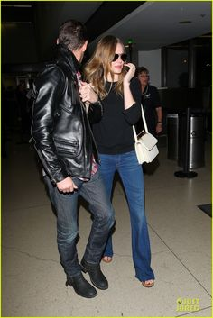 Kate Bosworth & Michael Polish: LAX Landing After Met Ball