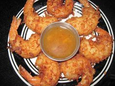 Outback Coconut Shrimp Copycat - This copycat recipe is right on the money. I used a basic recipe and tweaked it until I thought it was just right. It is a lot of work to prepare this but the time spent was well worth it. This shrimp is delicious and the Restaurant Recipes, Seafood Recipes, Appetizer Recipes, Cooking Recipes, Appetizers, Crawfish Recipes, Outback Recipes, Copycat Recipes, Coconut Shrimp Recipes