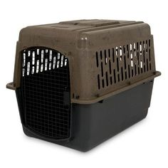 """Ruff Maxx Portable Dog Crate/Carrier Size: (36"""" H X 25"""" W X 27"""" L) http://www.barklands.com/product-category/dog-houses-crates-kennels/crates-kennels/"""