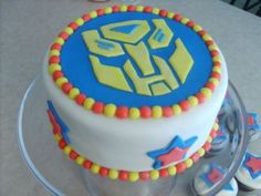 rescue bots birthday cake | Transformer Children Theme Birthday Party Ideas and buy Transformer ...