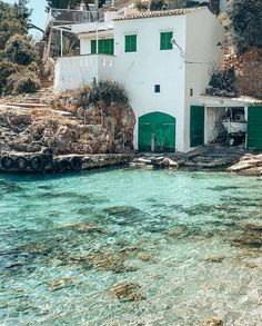 Places Around The World, The Places Youll Go, Places To Go, Vacation Destinations, Dream Vacations, Cala, Ibiza, Majorca, Summer Dream