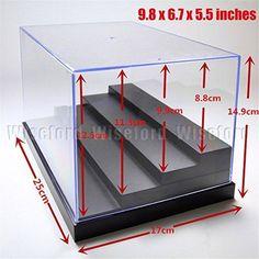 Acrylic Display 4 Steps Case/Box (9.8x6.7x5.5 inches) Perspex Dustproof ShowCase For Minifigure 1:24 Cars Amiibo Funko POP Acrylic Display Box http://www.amazon.com/dp/B00ZP4QIK2/ref=cm_sw_r_pi_dp_KNJwwb10TFMN0