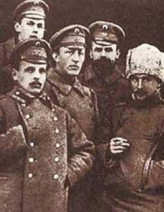 А. Блок на фронте. Пинск, 1916