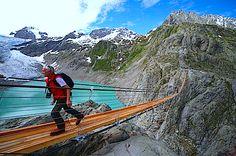 Trift Lake Switzerland