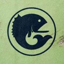 Fish logo by Draplin Design Co. Typography Logo, Typography Design, Design Logos, Badge Design, Icon Design, Draplin Design, Fish Logo, Logo Sign, Animal Logo