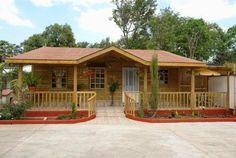BONITA FACHADA Planos Casas de Madera Prefabricadas: Ventajas de vivir en una Casa de Madera