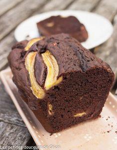 Cake moelleux chocolat banane