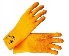 Guantes 3L modelo Coral 30 de látex en Suministros Planas. Ver descripción completa del guante: http://proteccionesplanas.wordpress.com/2012/04/15/guantes-latex-naranjas-forro-algodon/